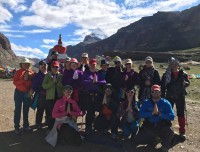 Group at Mount Kailash