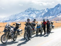Our Bikes are on the way to EBC riding