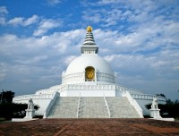 World Peace Stupa in Lumbini