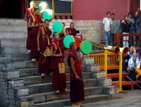Ritual at monastery
