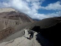 Rough road to Jomsom Muktinath