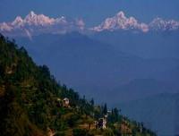 Scenic view from Namobuddha