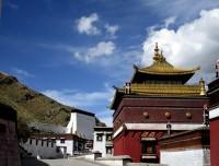 Tashilampo Monastery in Shigatse