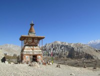 Shrine in Upper Mustang