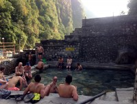 Natural hot spring in tatopani