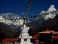 Tengboche and Everest Amadablam view