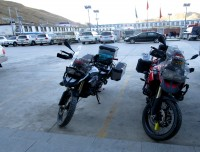 Chinese BMW in Tibet