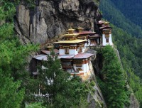 Tiger Nest in Paro Bhutan