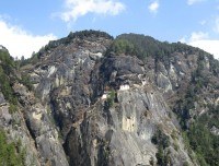 Tiger Nest view from Cafeteria