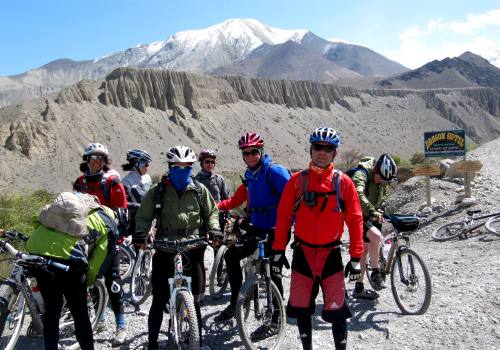 Annapurna Lower Mustang Cycling Tour