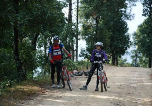 Cycling Kathmandu Valley