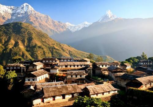Gorepani Ghandruk Trekking