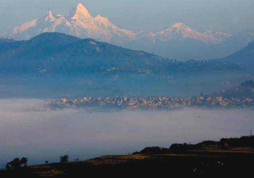 Hiking around Kathmandu Valley