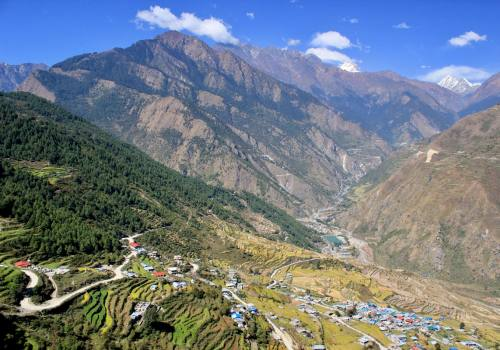 Jeep Rent to Gatlang Langtang Tamang Heritage trail
