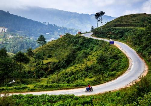 Motorbike Ride Near Kathmandu