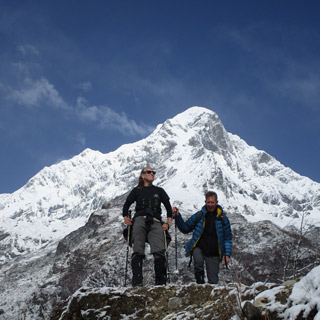 Manaslu Circuit and Tsum Valley organised by Nepal Highland Treks